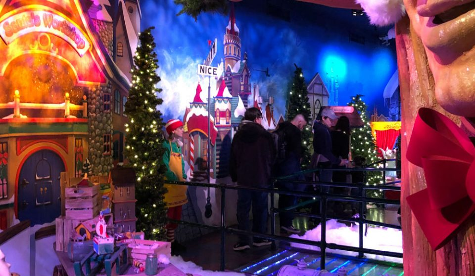 Macy's Santaland Is A Magical Winter Wonderland For Children And Adults Alike