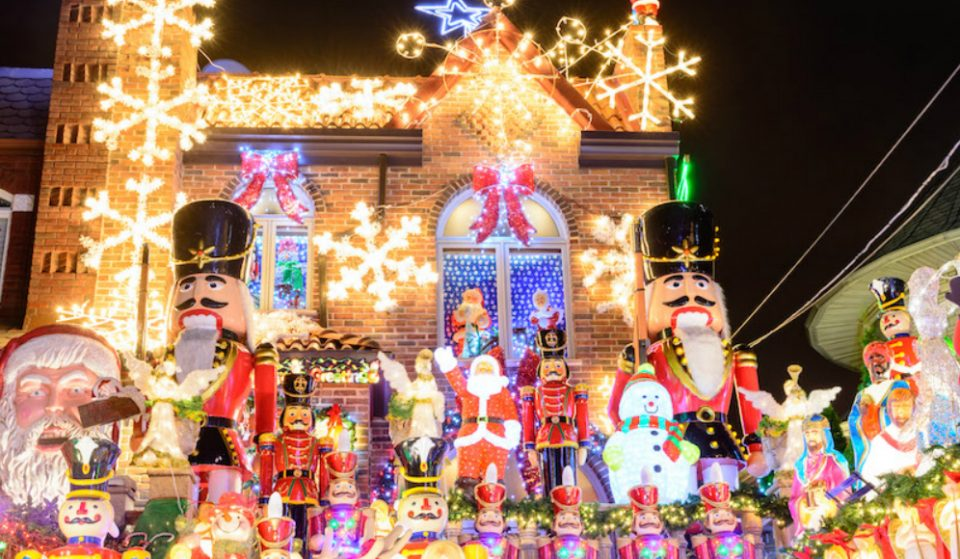 The Dyker Heights Christmas Lights Are Back For The Holiday Season