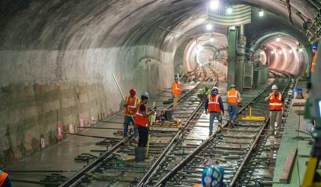 Check Out These Epic Photos Of The New Train Hub Under Grand Central