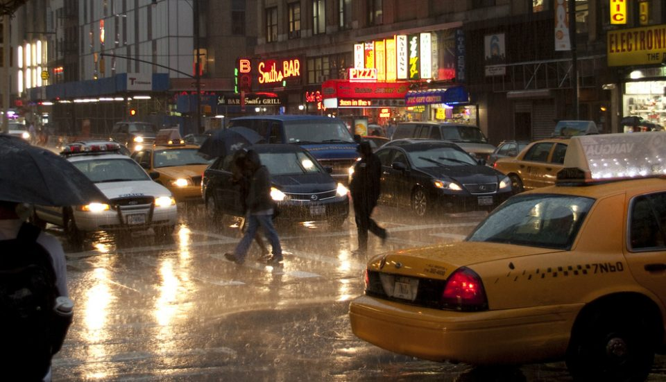 Get Ready For A Wet And Rainy New Year's Eve In NYC
