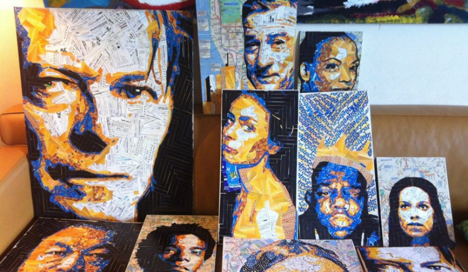 A Brooklyn Artist Is Making Awesome Mosaics Out Of Old MetroCards