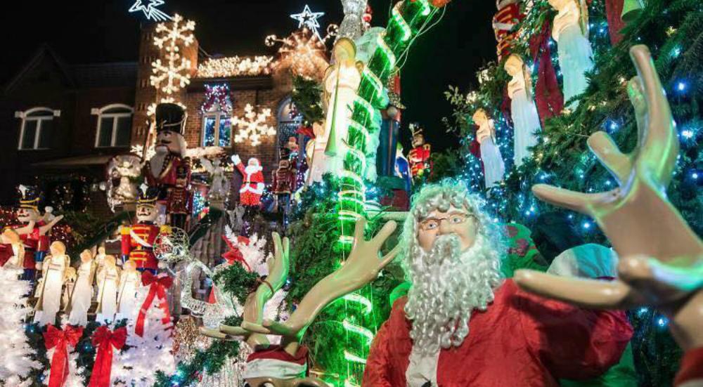 5 Christmas Light Displays Kids Will Love Across New York City