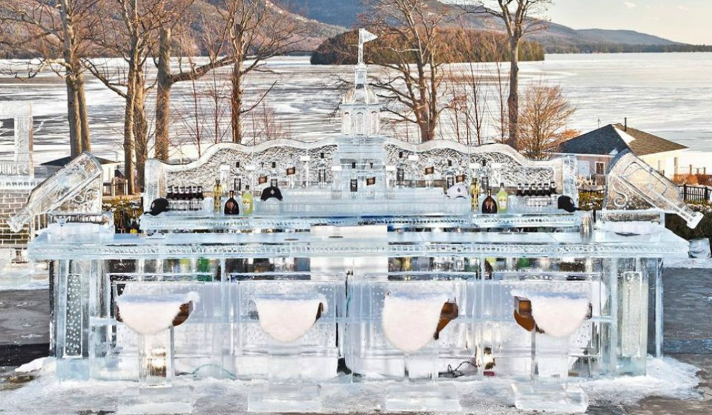 A Bar Made Out Of 18,000 Pounds Of Ice Is Opening In Upstate NY