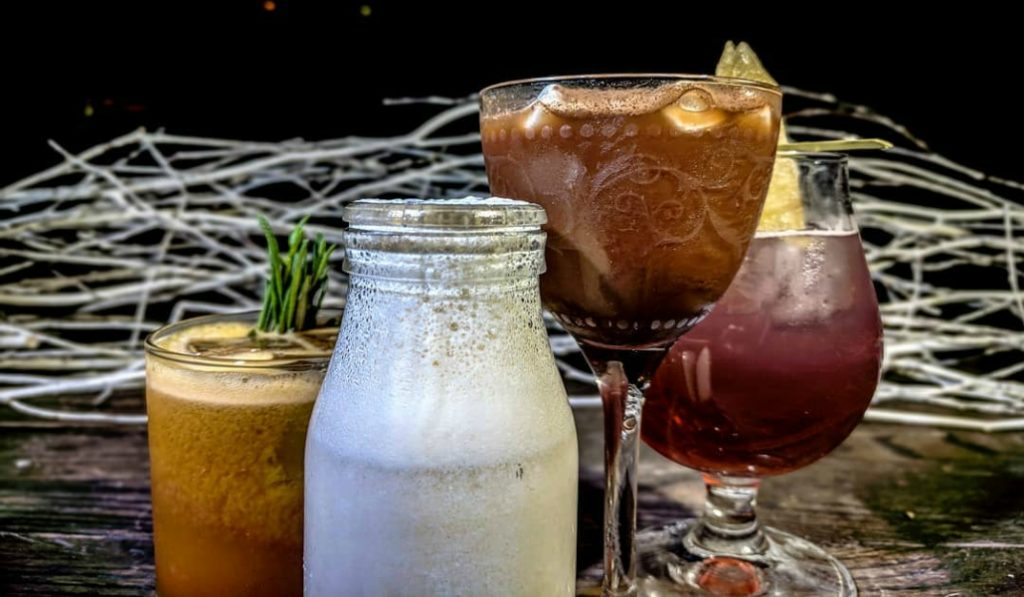 The Drinks At The VNYL Winter Wonderland Pop-Up Are A Must Try This Holiday Season