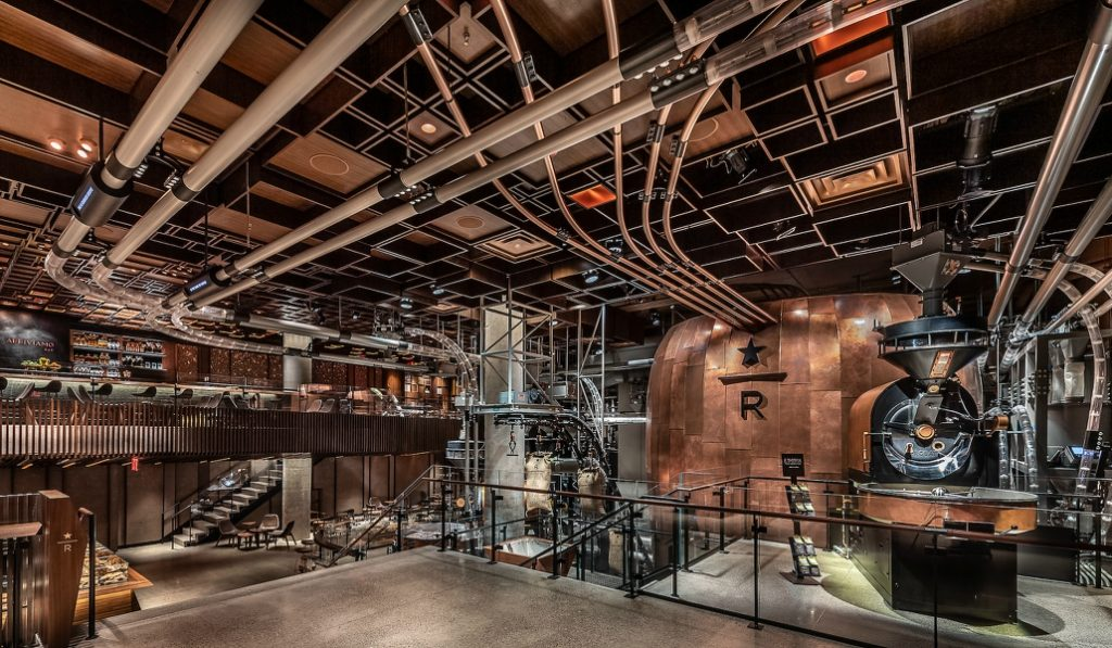 Take A Look Inside The New NYC Starbucks Reserve Roastery