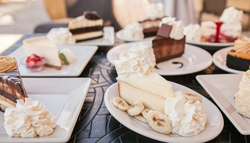 Cheesecake Factory Is Delivering Free Cheesecake Slices on Wednesday