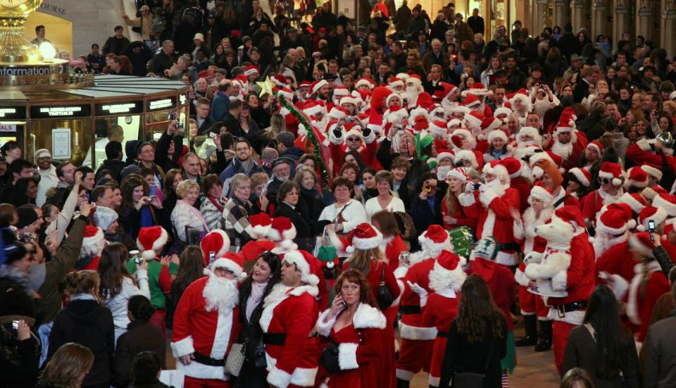 NY and NJ Transit Systems Are Banning Booze During SantaCon This Weekend