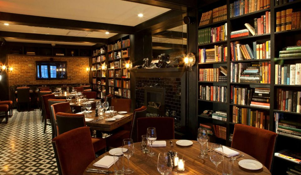 These 10 Beautiful Literary-Themed Bars Are A Bookworm's Dream Come True