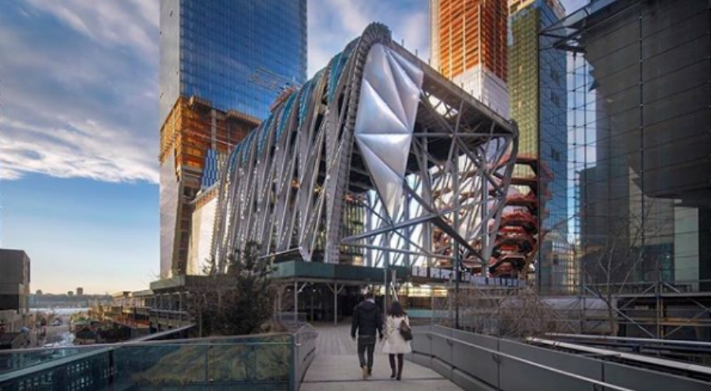 """New Hudson Yards Performing Arts Center """"The Shed"""" Opens This Weekend"""