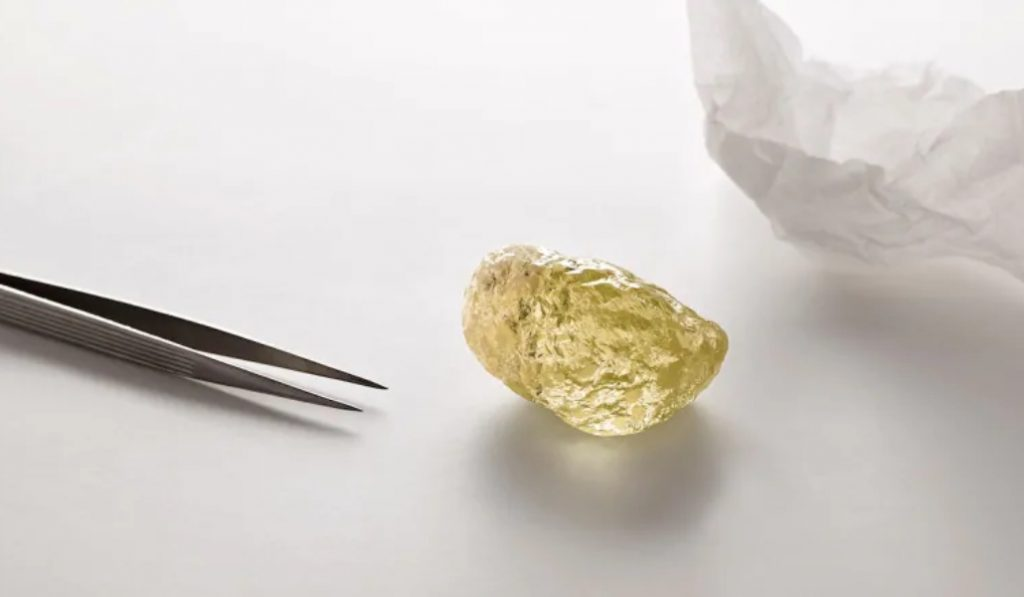 The Largest Diamond Ever Discovered In North America Is On Display Now In New York City