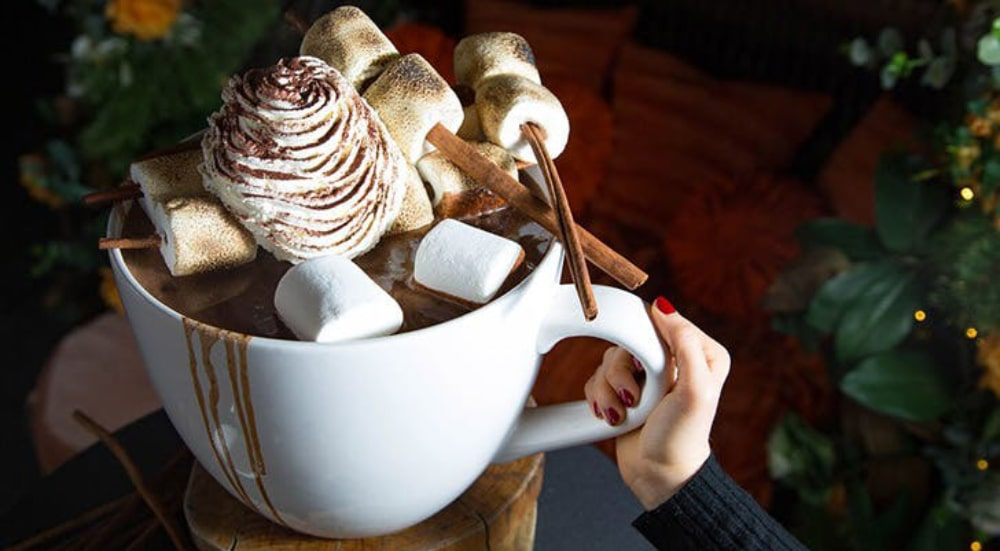 A Massive 20-Pound Spiked Hot Chocolate Is Coming To A Rooftop Bar In Midtown