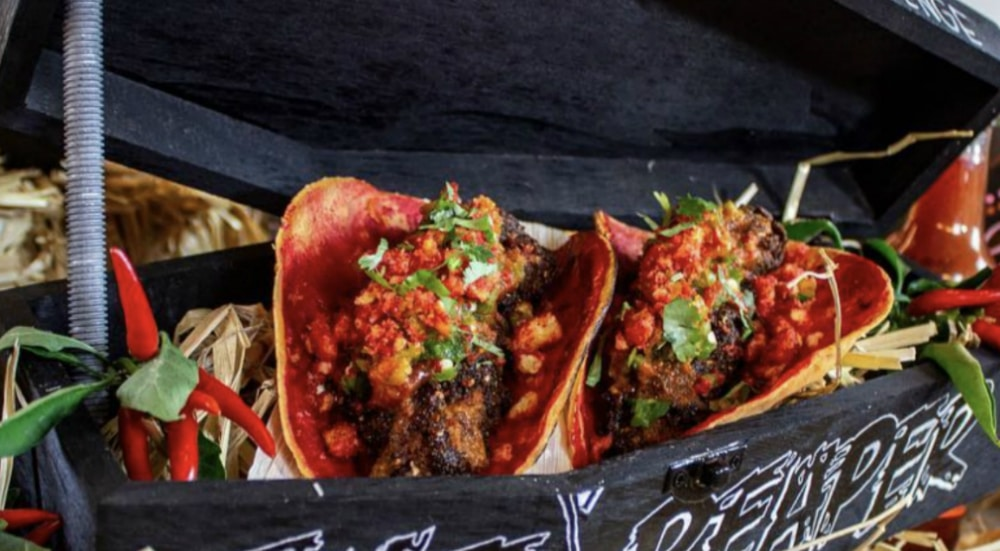 The Spiciest Tacos In NYC Are Made As A Challenge In Staten Island