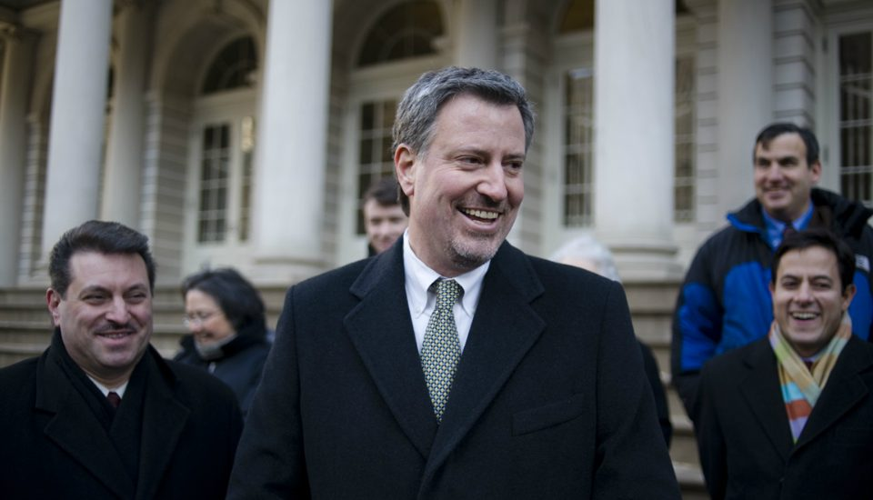 Mayor Bill de Blasio Guarantees Health Care For All NYC Residents In New Plan