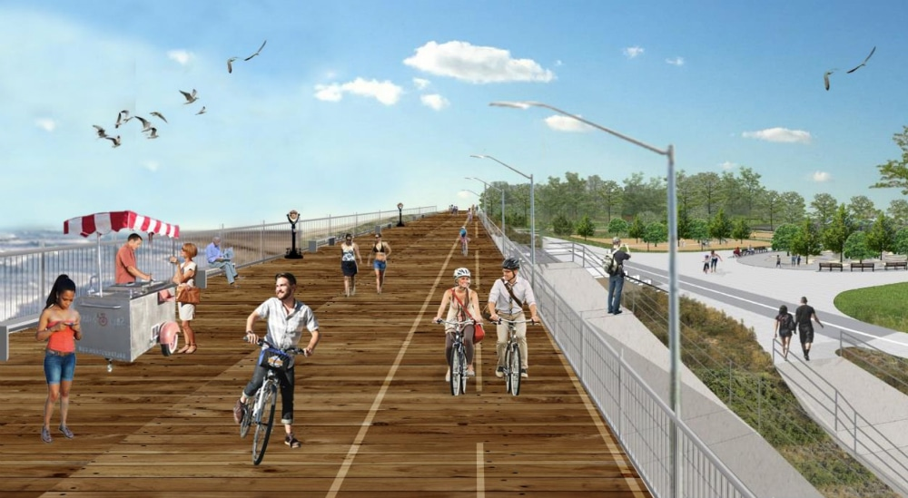 """A 5.3-Mile """"Elevated Promenade"""" On Staten Island Will Break Ground This Year"""
