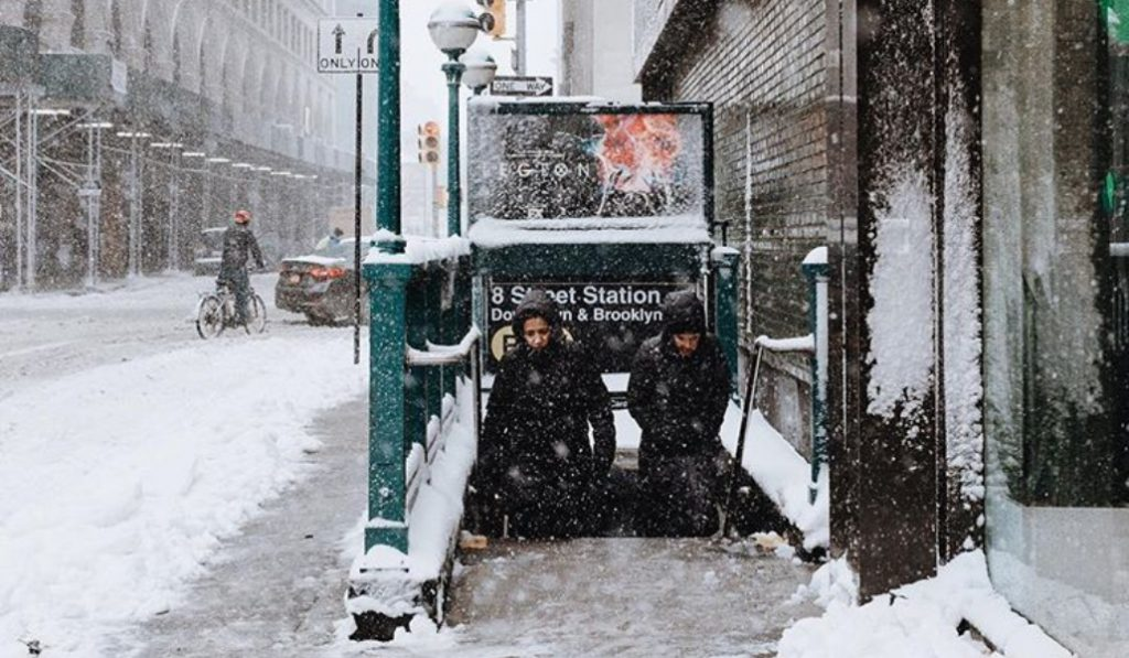 A Winter Storm Warning Has Been Issued For Today, Sunday February 10