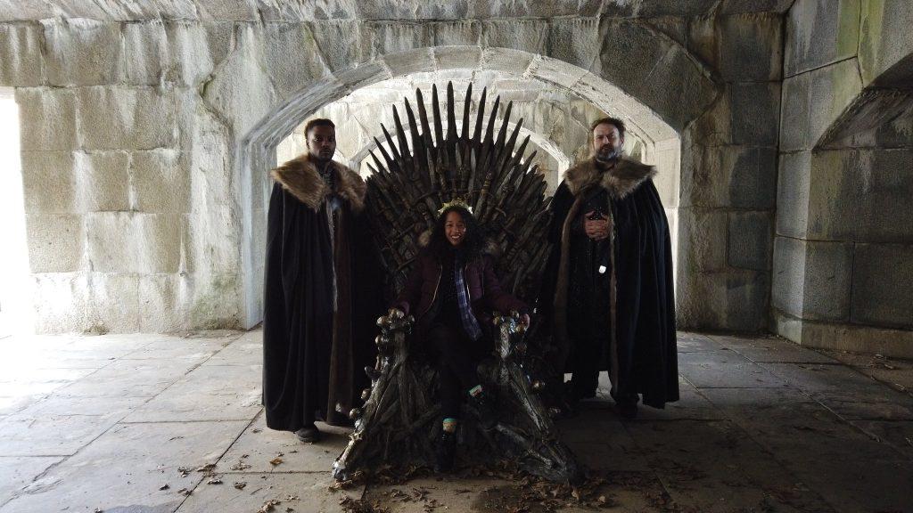 Game of Thrones Fan Finds Hidden Iron Throne In Queens