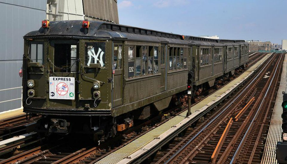 Ride A Vintage Subway Train To The Yankee's Home Opener Tomorrow