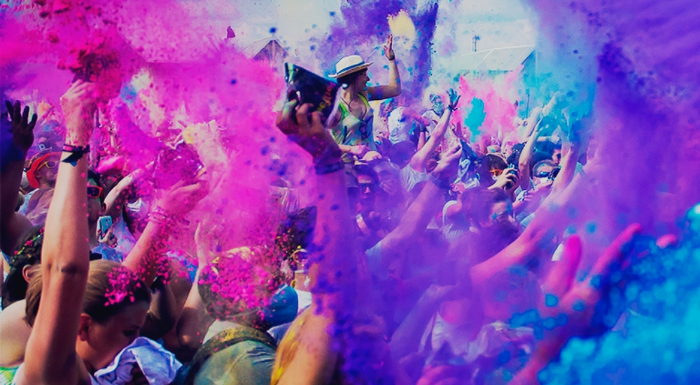 Show Your True Colors This Saturday At The Holi In The City Party