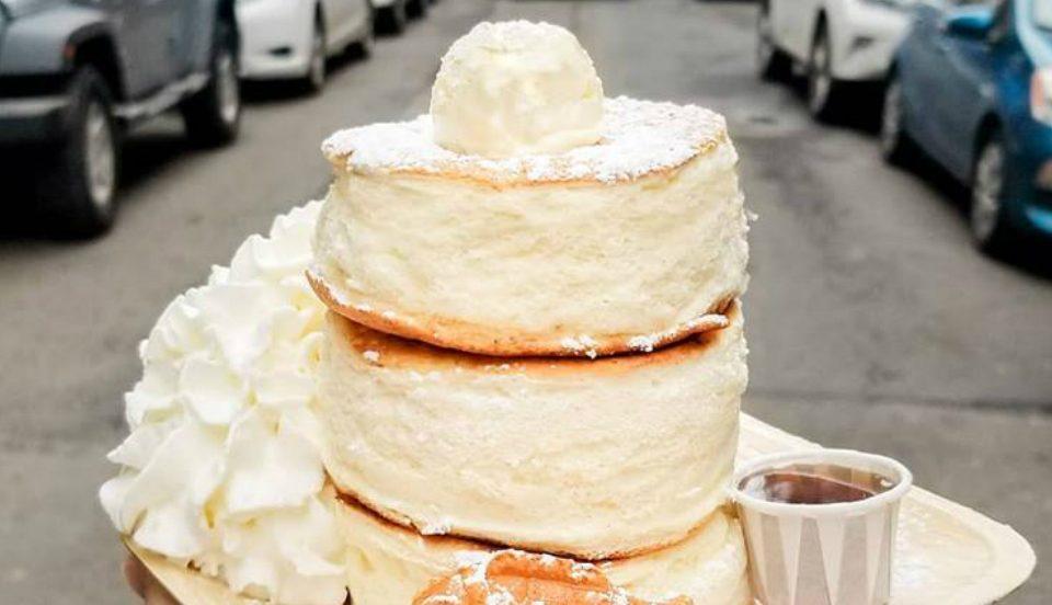 Chinatown's Taiyaki Now Serves Fluffy Japanese-Style Soufflé Pancakes