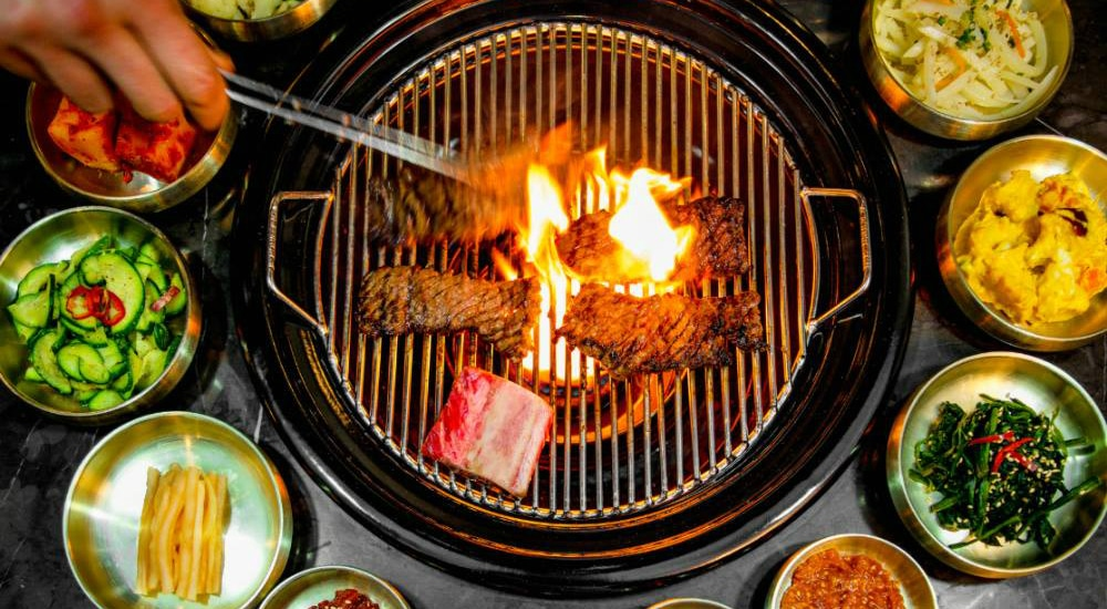 Experience Korean Cuisine And Authentic KBBQ At NYC's Samwon Garden