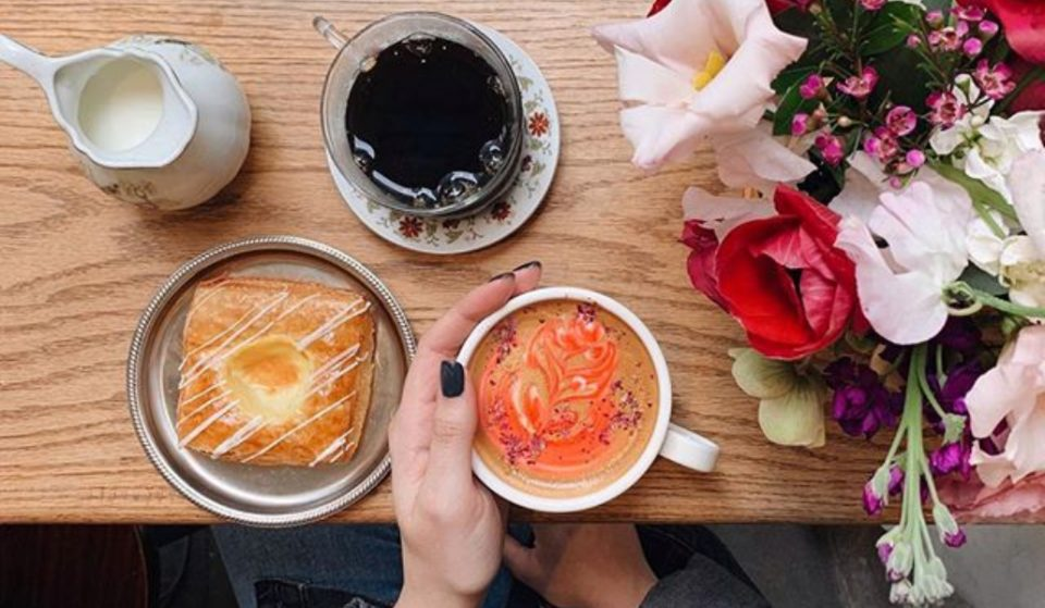 This Cute NYC Coffee Shop Doubles As A Florist