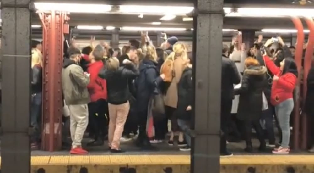 Watch Robyn Fans Throw Epic Dance Party On Subway Platform After MSG Concert
