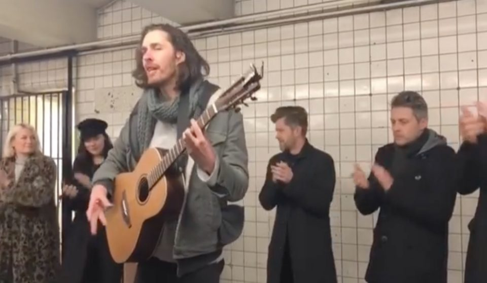 NYC Commuters Were Shocked By A Surprise Performance From Hozier