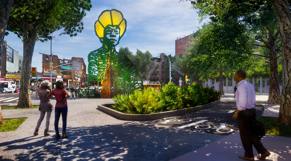 New Design For Shirley Chisholm Memorial In Prospect Park Has Been Revealed