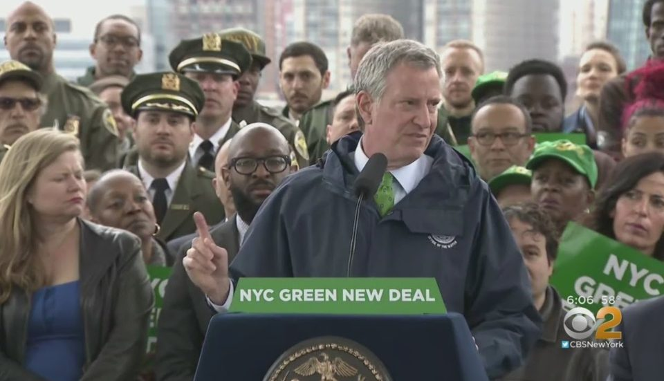 What De Blasio's Green New Deal Means For New York City