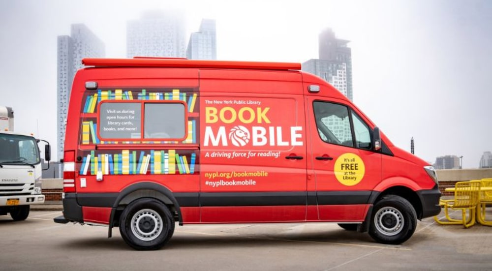 NYPL Will Have Its Very Own Book Mobile Roaming The Streets