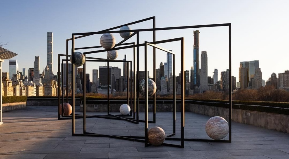 The Met's Annual Roof Garden Commission Features A Mini Solar System