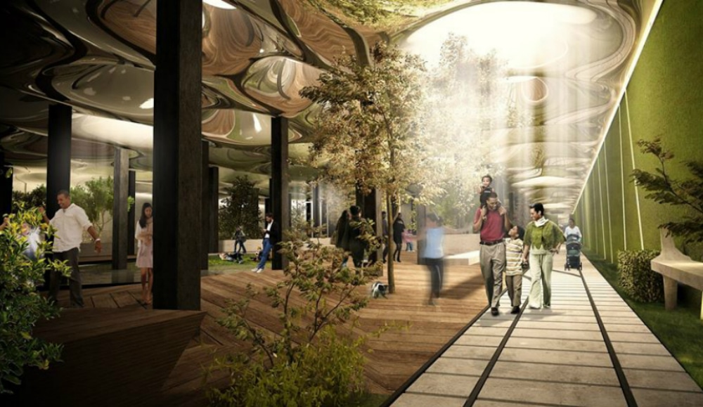 The World's First Underground Park Will Open In The LES By 2021