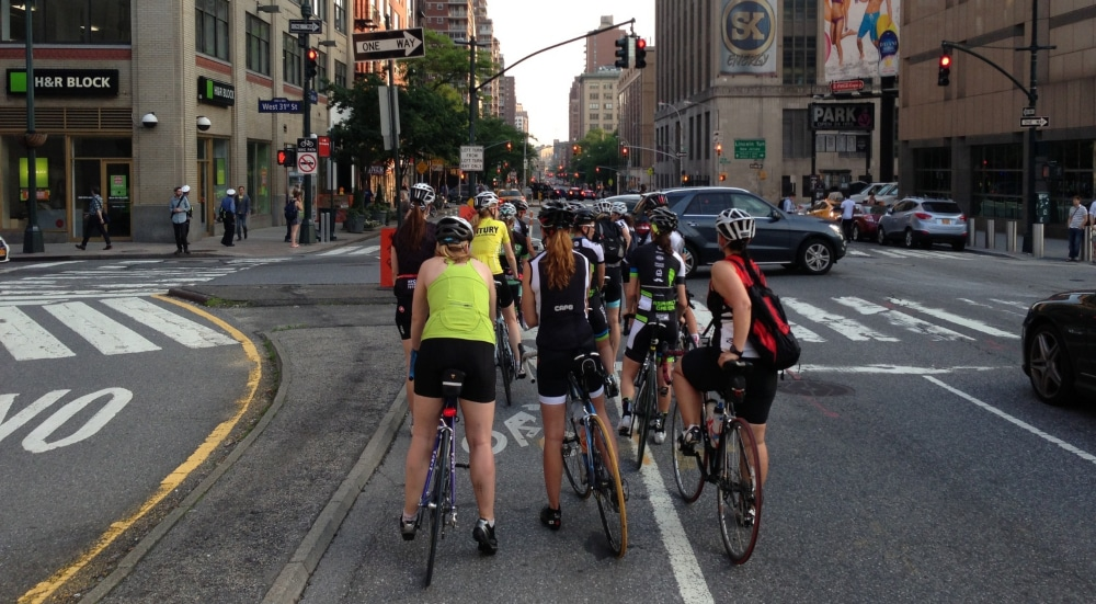 Could Cyclists Potentially Have Right Of Way At NYC Intersections?