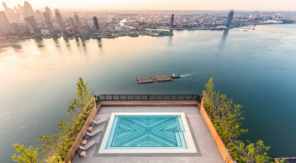 Soak In The Sun And East River Views From This Exclusive New Rooftop Pool