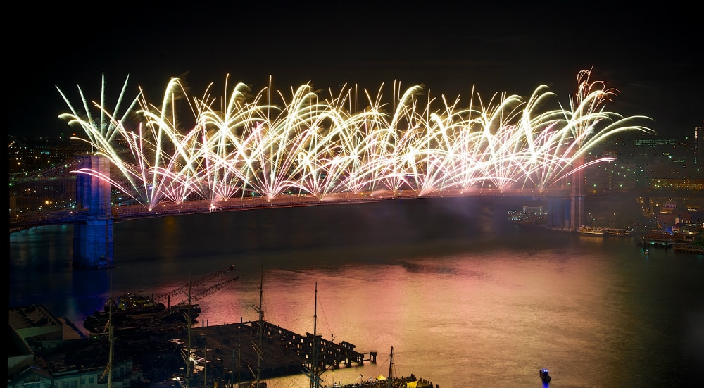 Macy's 4th of July Fireworks Will Launch From The Brooklyn Bridge