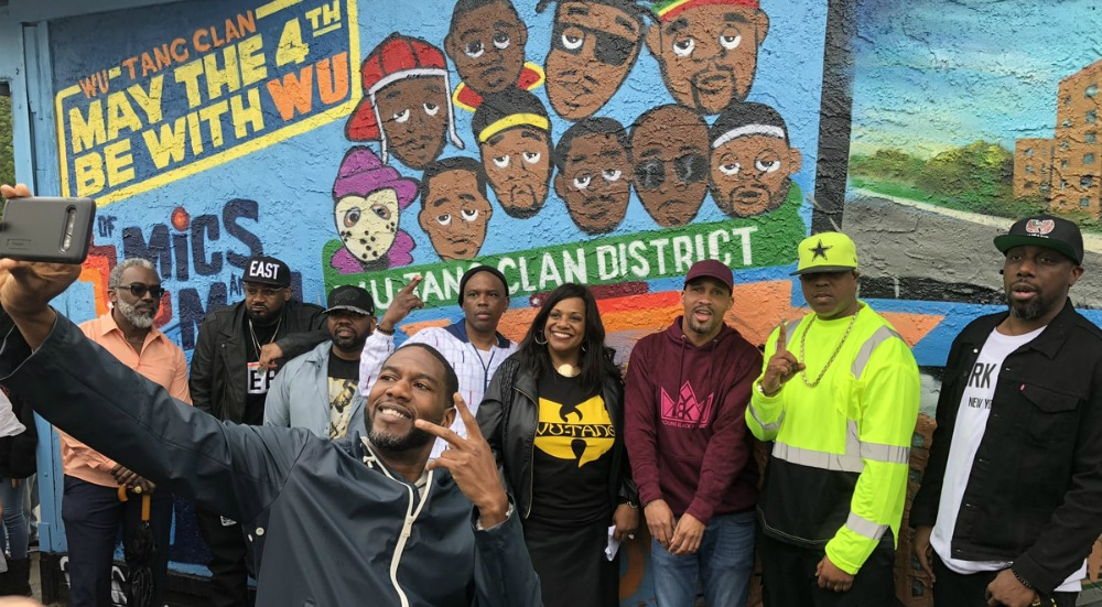 The Wu-Tang Clan Was Honored With Their Own District In NYC This Weekend
