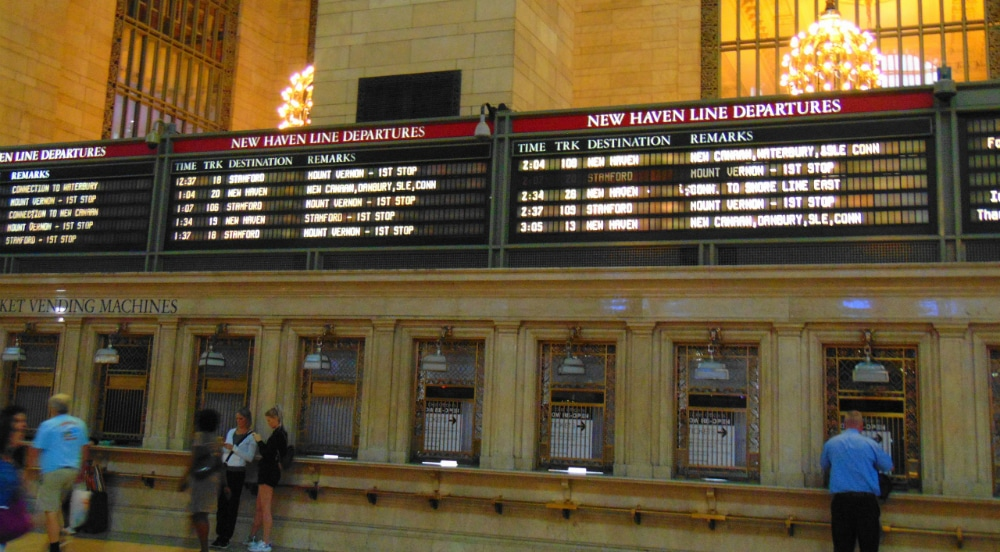Grand Central Terminal Is Changing Their Old School Departures And Arrivals Board