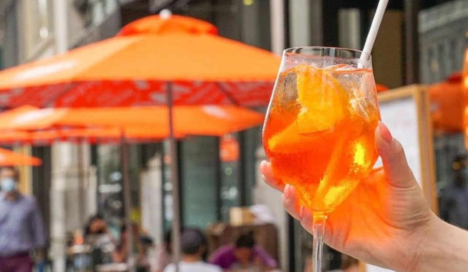 10 Best Bars In NYC For A Refreshing Aperol Spritz