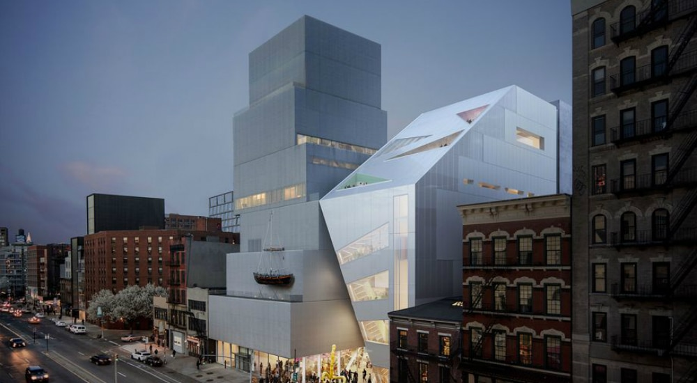 New Museum Is Expanding With A Sleek 60K-Square-Foot Building Next Door