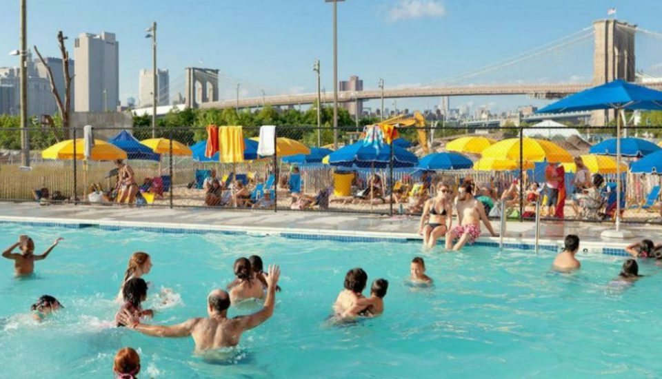 New York City's Public Outdoor Pools Open For The Summer This Weekend