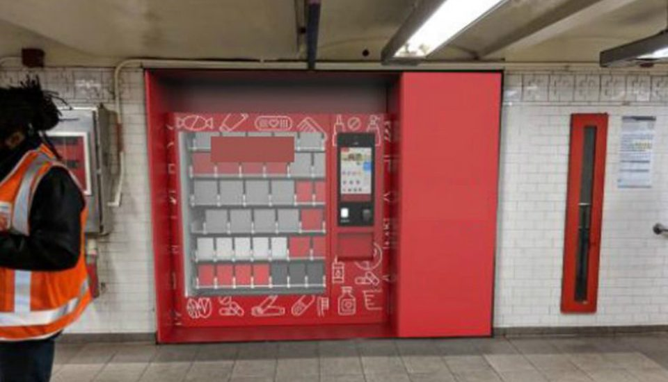 Vending Machines Are Officially Replacing Newsstands Across NYC's Subway Stations