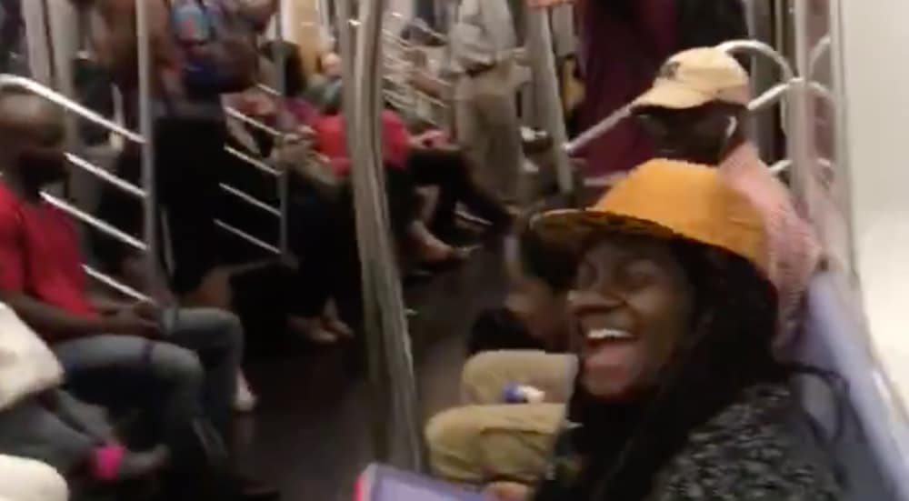 This Video Of NYC Subway Riders Singing Along To 'I Want It That Way' Is Too Cute
