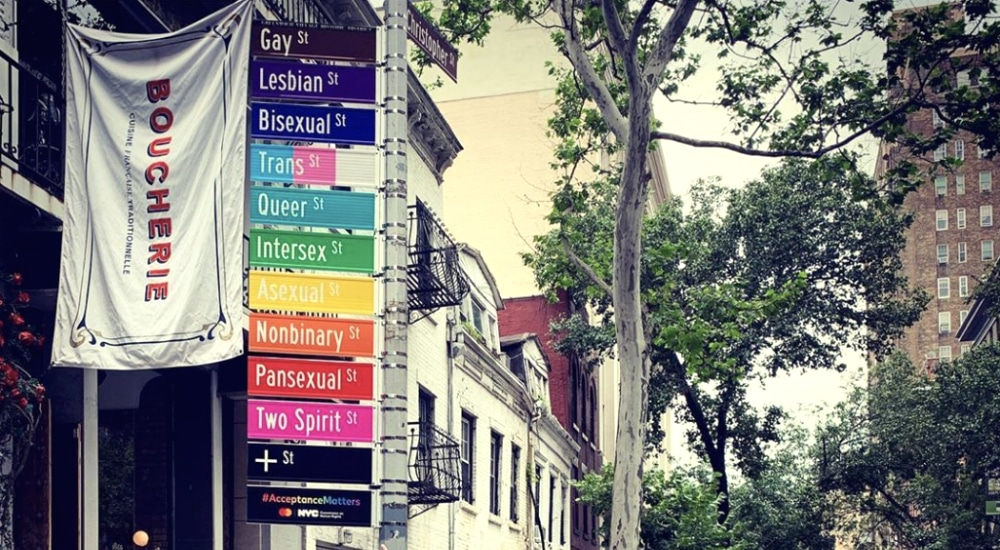"""'Gay Street' In Greenwich Village Temporarily Changes Name To Be More Inclusive: """"Acceptance Street"""""""