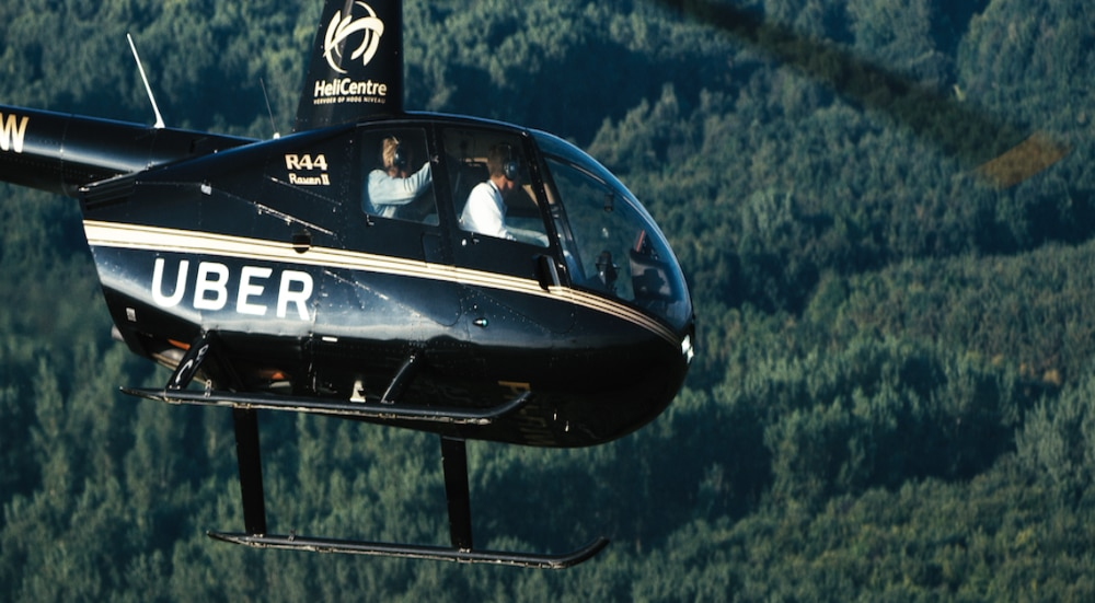 Uber Announces New Helicopter Service Between Manhattan And JFK