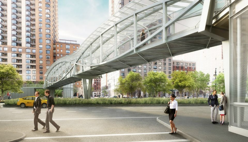 10 Years In The Making, Lower Manhattan's Pedestrian Bridge Will Finally Open This Fall