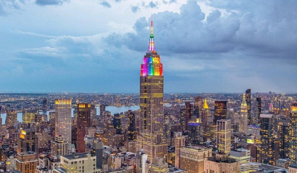 The Empire State Building Will Be Lit Up In Rainbow Colors In Honor Of NYC Pride