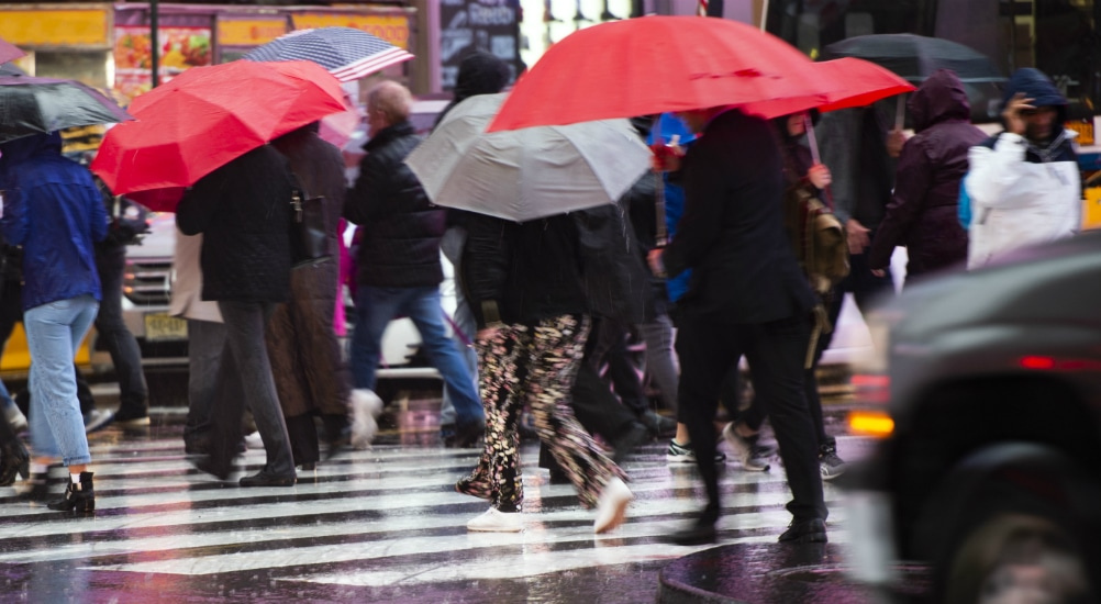 National Weather Service Warns Of Extreme Heat And Severe Thunderstorms In NYC Today