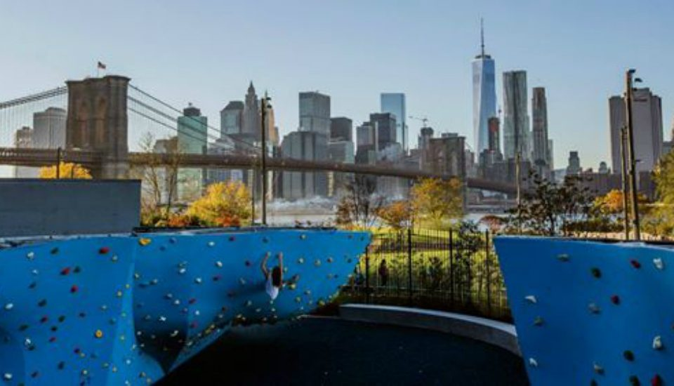 Largest Outdoor Climbing Gym In North America Reopens In Dumbo