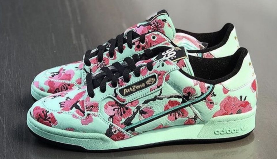 Adidas And AriZona Iced Tea Collab On New 99-Cent Sneakers For Nolita Pop-Up