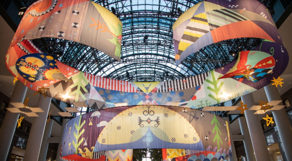 This Brookfield Place Installation Intersects Old And Contemporary Mi'kmaq Traditions